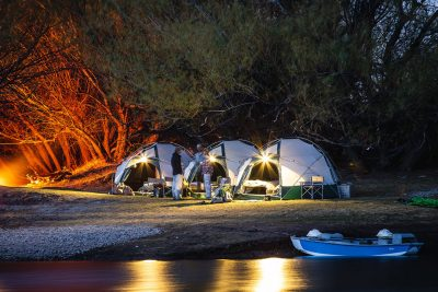 unplugged camping