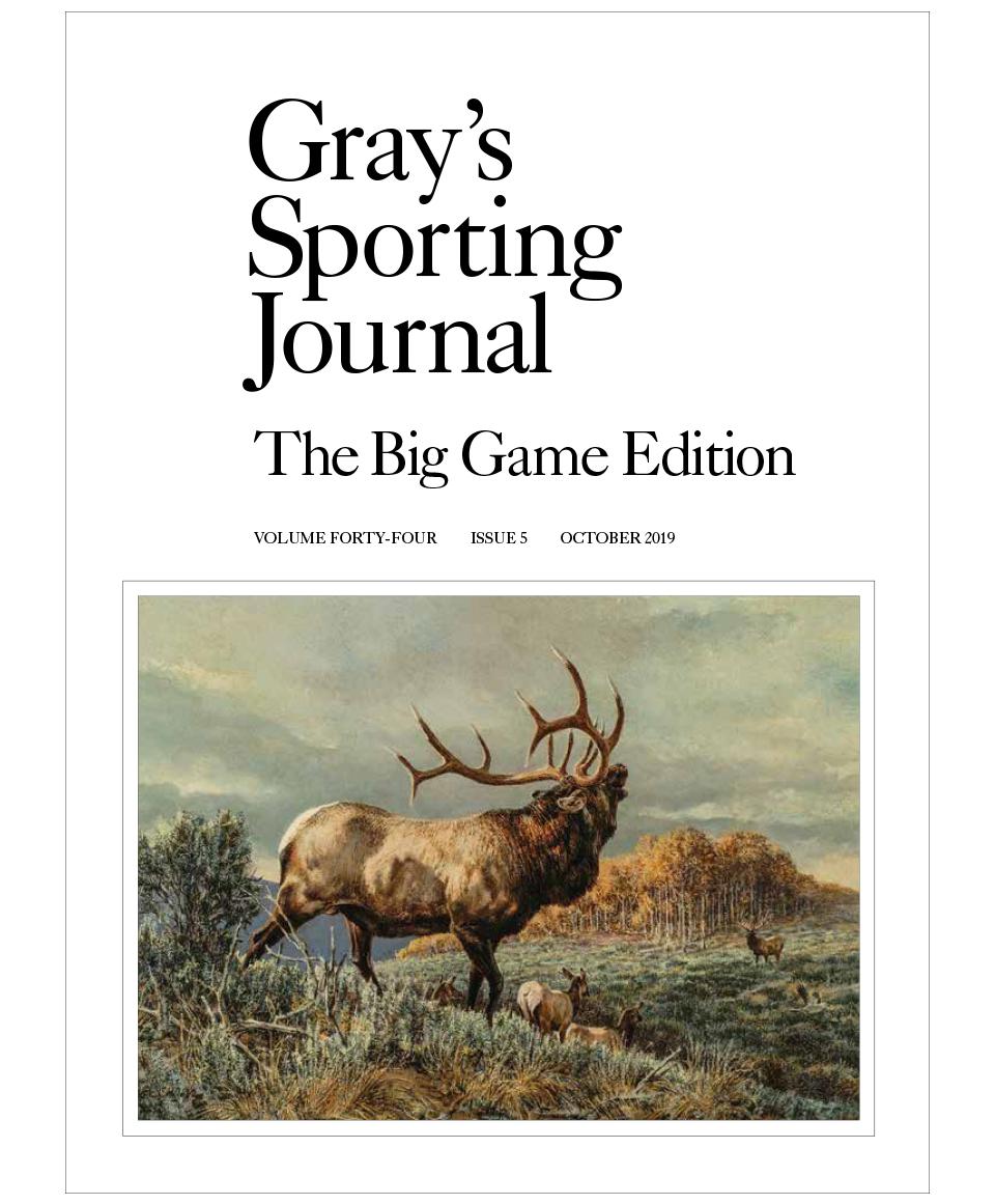 greys sporting journal big game